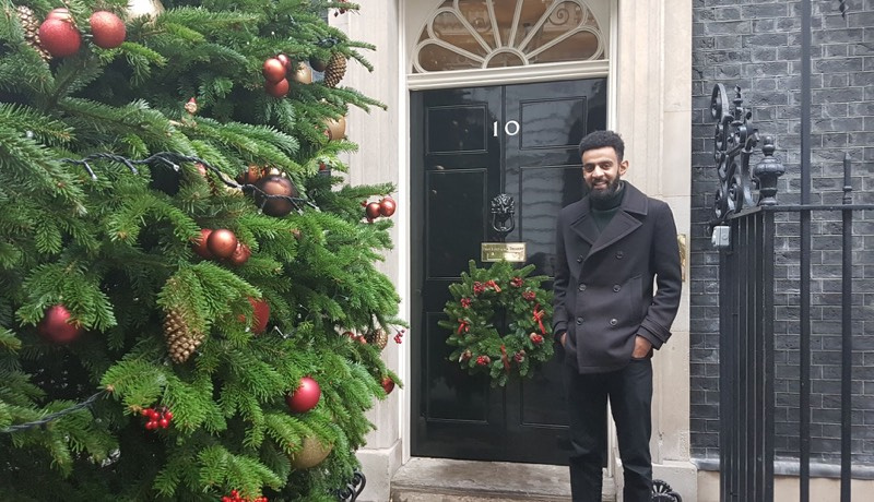 Our CEO Ismail Jeilani at 10 Downing Street